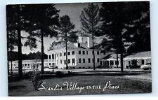 *Scandia Village in the Pines Motor Court Raleigh North Carolina NC Postcard B35