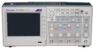 Tektronix TDS2000 Series TDS2004C Oscilloscope Digital Storage 4 Channels 70MHz