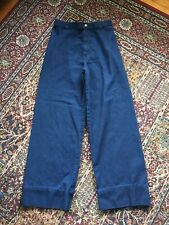 Vintage 70s Levis Bellbottom Blue Jeans Denim Waist 29 Talon 42 Zipper