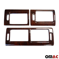 Genuine Wooden Walnut Air Vent Cover 3 Pcs for Ford Transit Connect 2010-2013