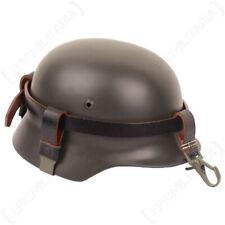 German Helmet Carrying Strap Green Buckle M35 M40 M42 Stahlhelm WW2 Utility