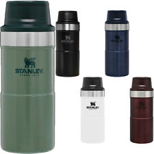 Stanley 12 oz. Classic Trigger-Action Insulated Stainless Steel Travel Mug