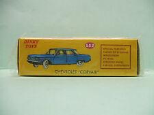 CHEVROLET CORVAIR couleur verte ref 552 Dinky Toys Atlas 1/43
