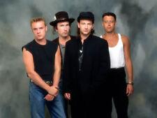 U2 UNSIGNED photo - K8162 - Bono, The Edge, Adam Clayton and Larry Mullen Jr.