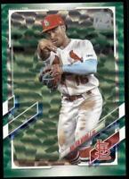 2021 Topps Series 1 Base Green #75 Kolten Wong /499 - St. Louis Cardinals
