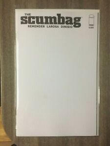 The Scumbag #1 Blank Variant NM