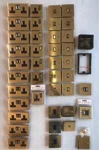 Sockets & Switches (Job Lot, 41 Pieces)