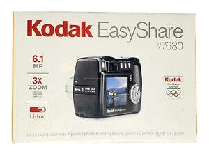 Kodak Easy Share Digital Camera DX-7630 3X Zoom 6.1MP