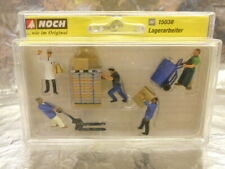 ** Noch 15038 Warehousemen (5 figures) and Accessories Figure Set 1:87 HO Scale