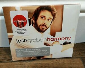 Josh Groban Harmony CD ~TARGET  Exclusive~ Digipak *SEALED* Brand New