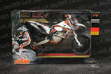 AUTOMAX KTM 350 EXC-F 6 DAYS Germay Saxony Motorcycle 1/12 Diecast Model