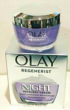 Olay Regenerist Night Recovery Cream Fragrance Free Anti Aging Moisturizer