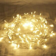 16M 200 LED IP44 Warm White Christmas Wedding Party Fairy Lights with 8 Function