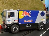 Slotcar LKW MAN Red Bull RACING in 1:32 auch für Carrera Evolution    AV50409