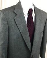 Austin Reed Men's 40R Gray 2-Button Wool Blazer Sport Coat Suit Jacket