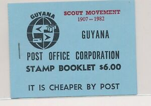 LO38002 Guyana 1982 scout movement good booklet MNH