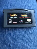 2 in 1: Hot Wheels Stunt Track Challenge/World Race, Game Only, Gameboy Advance