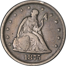 1875-S Twenty (20) Cent Piece Great Deals From The Executive Coin Company