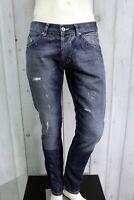 DONDUP Jeans Uomo Taglia 34 / 48 Pantalone Regular Cotone Pants Men Man Italy