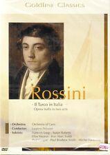 DVD + Goldline Classics #4 + Gioacchino Rossini + Il Turco in Italia + Oper +