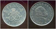 MONACO 2 francs 1979