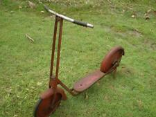 Vintage 1940s Cyclops 2 wheel old scooter as found condition  great collector