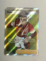 Pokemon - Kabu FULL ART Trainer - 186/189 Darkness Ablaze - NM/M