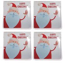 4 x Christmas stocking filler gift lucky sixpence good luck charm santa xmas