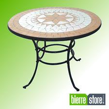 Table jardin mosaique dans tables de jardin et terrasse | Achetez ...