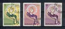 Burundi - 1969 - Mi. 469-71 (Mensenrechten) - Gestempeld - K6777