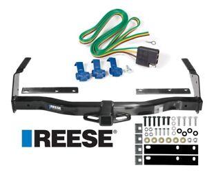 Reese Trailer Tow Hitch For 78-92 Dodge B100 B150 B200 B250 B300 B350 Wiring Kit
