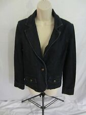 Levi Strauss Signature Denim Blue Jean Button Front Jacket  - Women's Small