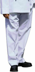 NEW CHEF PANTS CHEF'S SLACKS COOK KITCHEN PANT WAITER COOKS TROUSERS BUY NOW