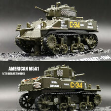 WWII AMERICAN M5A1 1/72 Finished Model Tank Stuart 1943