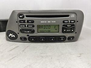 Ford Ka 6000Cd car radio stereo CD player + Code Ford 6000 Grey Warm Steel