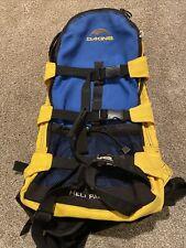 DAKINE Heli Pack Ski Snowboard Blue Yellow Backcountry Backpack EUC