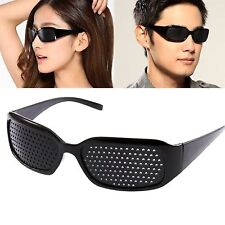 Anti Fatigue Eyesight Vision Improve Pin Holes Stenopeic Pinhole Glasses Eye Car
