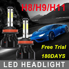 4-Sides H11 H8 H9 Cree Led Headlight Bulbs 2000W 385000Lm High Power Foglight