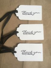 6x Teacher Gift Tags Thank You Gift Ties Bottle Ties Wine