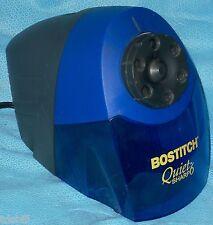 Bostitch Quiet Sharp 6 Classroom 6-Hole Electric Pencil Sharpener, Blue EPS10HC