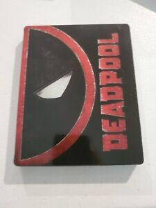 (Used) BLU-RAY DVD Disc Marvel DEADPOOL Best Buy Steelbook
