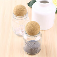 2x Round Wooden Wine Corks Ball Stopper Bottle Cork for Wine Decanter Party 61mm