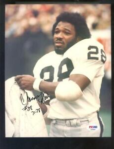 Clarence Davis Oakland Raiders 8x10 Photo Signed Autograph Auto PSA/DNA Football