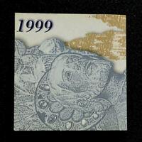 ESPAÑA/SPAIN. Estuche 2000 pesetas 1999 PLATA. CONM. AÑO SANTO JACOBEO.FNMT.SC