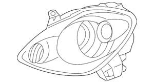 Genuine Toyota Lens & Housing 81130-17220