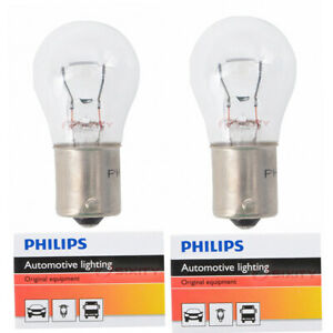 2 pc Philips 1156CP Turn Signal Light Bulbs for 26960 Electrical Lighting kg