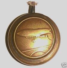 "WW1 Brass Trench Lighter ""Zepplin"" Motif ""Airship"""