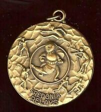 old MEDAL charm pendant hallmarked FREDOINIA RELAYS
