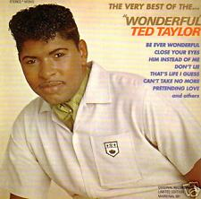 TED TAYLOR - Wonderful - The very Best of CD