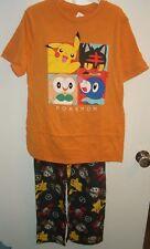 Pokemon Tee Shirt And Lounge Pants Pajamas SOLD AS SET Size 14/16 $38 RV NWT